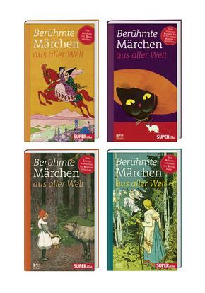 Berühmte Märchen aus aller Welt, 4 Bände