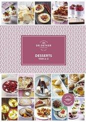 Dr. Oetker Desserts von A-Z