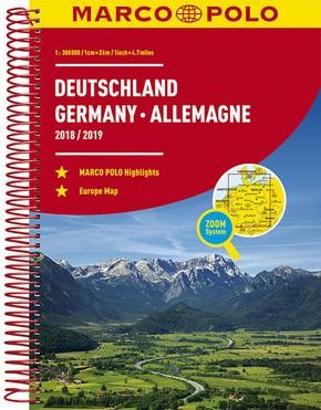 MARCO POLO Reiseatlas Deutschland 2018/2019