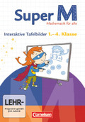Super M - Mathematik für alle (Zu allen Ausgaben): 1.-4. Schuljahr, Interaktive Tafelbilder, CD-ROM
