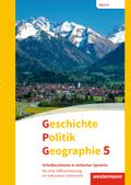 Geschichte - Politik - Geographie (GPG), Ausgabe 2017 für Mittelschulen in Bayern: 5. Schuljahr, Schulbuchtexte in einfacher Sprache für eine Differenzierung im inklusiven Unterricht, m. CD-ROM