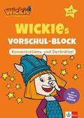 Wickies Vorschul-Block - Konzentrations- und Denkrätsel
