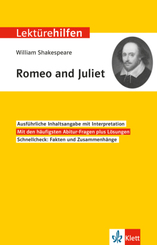 "Lektürehilfen William Shakespeare ""Romeo and Juliet"""