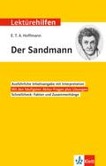 """Lektürehilfen E.T.A. Hoffmann """"Der Sandmann"""""""