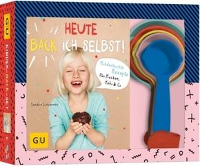 Heute back' ich selbst!, mit Farbbechern (Kinder-Back-Set)