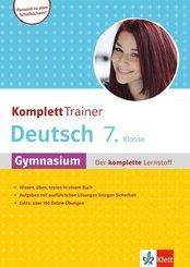 KomplettTrainer Deutsch 7. Klasse Gymnasium