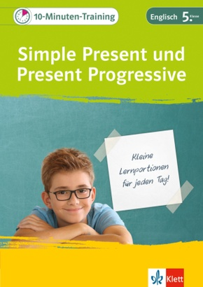 10-Minuten-Training Simple Present und Present Progressive