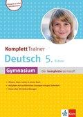 KomplettTrainer Deutsch 5. Klasse Gymnasium