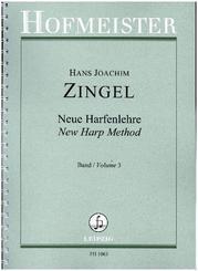 Neue Harfenlehre. Geschichte - Spielart - Musik in vier Bänden, Harfe - Bd.3
