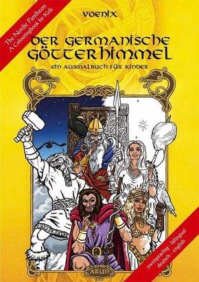 Der germanische Götterhimmel - Ein Malbuch für Kinder