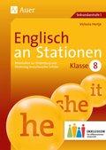 Englisch an Stationen 8 Inklusion, m. Audio-CD