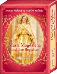 Maria Magdalena und ihre Begleiter, 48 Karten mit Begleitbuch