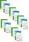 legen-lernen-lesen: Die Laut-Buchstabenkarten (5 Exemplare)
