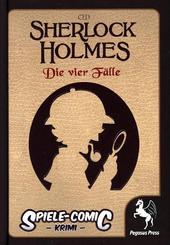 Spiele-Comic Krimi, Sherlock Holmes: Die vier Fälle - Nr.1