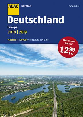 ADAC Reiseatlas Deutschland, Europa 2018/2019 1:200 000