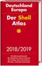 Der Shell Atlas 2018/2019 Deutschland 1:300 000, Europa 1:750 000