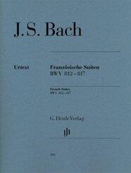 Bach, Johann Sebastian - Französische Suiten BWV 812-817