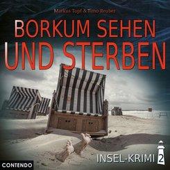 Insel-Krimi - Borkum sehen und sterben, 1 Audio-CD