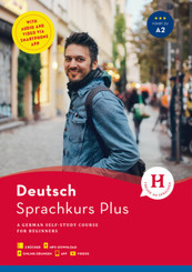 Hueber Sprachkurs Plus Deutsch, Englische Ausgabe, 2 Bde.