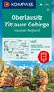 Kompass Karte Oberlausitz, Zittauer Gebirge, Lausitzer Bergland