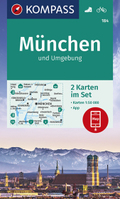 KOMPASS Wanderkarte München und Umgebung