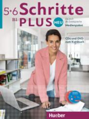Schritte plus Neu - Deutsch als Fremdsprache / Deutsch als Zweitsprache: Medienpaket, CDs und DVD zum Kursbuch; Bd.5+6