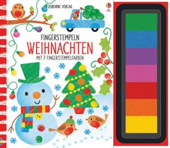 Fingerstempeln: Weihnachten