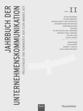 Jahrbuch der Unternehmenskommunikation 2017 - Bd.11