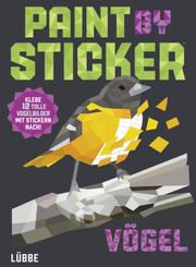 Paint by Sticker Vögel