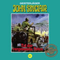 John Sinclair Tonstudio Braun - Tal der vergessenen Toten, 1 Audio-CD
