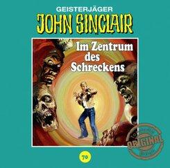 John Sinclair Tonstudio Braun - Im Zentrum des Schreckens, 1 Audio-CD