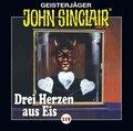 John Sinclair - Drei Herzen aus Eis, 1 Audio-CD
