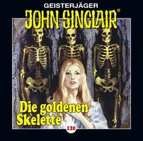 John Sinclair - Die goldenen Skelette, 1 Audio-CD