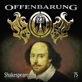 Offenbarung 23 - Shakespeare, 1 Audio-CD
