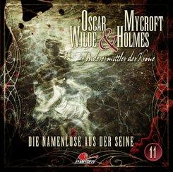 Oscar Wilde & Mycroft Holmes - Die Namenlose aus der Seine, 1 Audio-CD