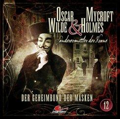 Oscar Wilde & Mycroft Holmes - Der Geheimbund der Masken, 1 Audio-CD