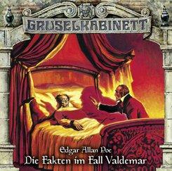 Gruselkabinett - Die Fakten im Fall Valdemar, 1 Audio-CD