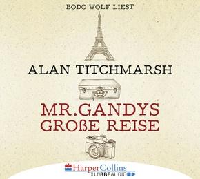 Mr. Gandys große Reise, 8 Audio-CD