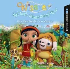 Wissper - Kopf hoch, kleiner Orang-Utan: Neue Geschichten von Wissper, 1 Audio-CD