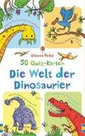 Die Welt der Dinosaurier (Kinderspiel, 50 Quiz-Karten)