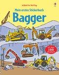 Mein erstes Stickerbuch: Bagger