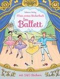 Mein erstes Stickerbuch: Im Ballett
