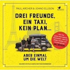 Drei Freunde, ein Taxi, kein Plan ..., 2 MP3-CDs