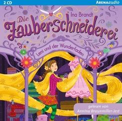 Die Zauberschneiderei - Leni und der Wunderfaden, 2 Audio-CDs
