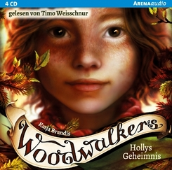 Woodwalkers - Hollys Geheimnis, 4 Audio-CDs