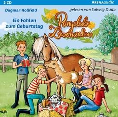 Ponyclub Löwenzahn - Ein Fohlen zum Geburtstag, 2 Audio-CDs