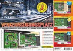 Verkehrsübungsplatz, 3 Info-Tafeln