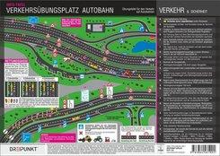 Verkehrsübungsplatz Autobahn, Info-Tafel