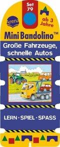 MiniBandolino (Spiele): Große Fahrzeuge, schnelle Autos (Kinderspiel); Set.79