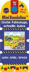 Große Fahrzeuge, schnelle Autos (Kinderspiel)